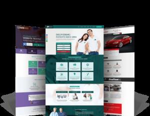 Examples of website design