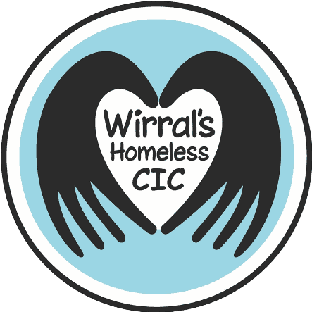 Brand9 web design wirral supporting Wirral's Homeless CIC logo